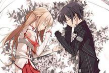 SAO / the world where Asuna and Kirito share their photos :p