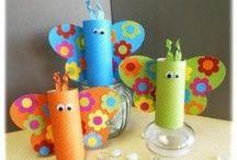 Kids craft / Gode ideer til kreativt tidsfordriv for ungerne.