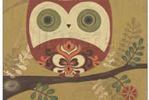 Owls / Ugler i alle afskygninger...