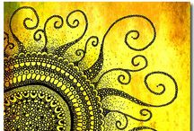Zentangle Inspired Art / Zentangles, doodles and art inspired by them.