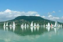 Auf zum Balaton! / Der größte Binnensee Europas liegt in Ungarn.