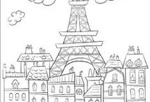 Coloring pages / Coloring pages Hojas para colorear.