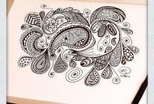 Doodle - Paisley