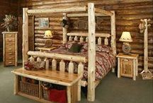 Log Furniture Projects / Project examples that could be made with Lumberjack Tools