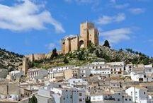 Velez Blanco / A stunning whitewashed mountainside village surrounded by the Maria - Velez Natural Park... http://choose-almeria.com/mountains-sierra-maria.php