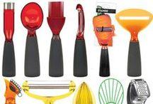 Gadżety kuchenne, które kochamy! ♥ / Cały czas szukamy nowych inspiracji do kuchni. Akcesoria kuchenne wcale nie muszą być szare i nudne... mogą być kolorowe i niezwykle designerskie.