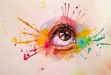 FANTASTIC watercolor PAINTINGS