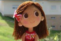Felt Dolls And Other Felt Crafts