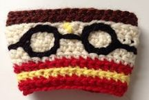 Crochet Cup Cosies / Cup cosies