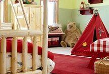 Kids Log Furniture