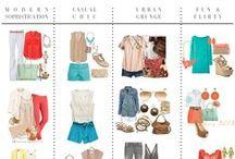 What to Wear:  Senior Girl / Wardrobe Inspiration for senior girl portraits