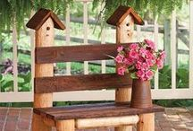 Spring/Summer Log Furniture Projects