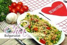 Chia Rezepte - Salate / Ob als Beilage, für Zwischendurch oder als leichtes Abendessen... Hier findest Du leckere #Chia Rezepte für frische #Salate. Alle Chia Samen Rezepte auch bei chiasamen-rezepte.de und natürlich hier auf Pinterest.