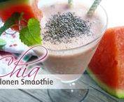 Chia Rezepte - Getränke / Leckere und erfrischende #Getränke mit #Chia. Hier findest Du einige Chia Rezepte zum #Erfrischen und #Durst löschen. Alle Chia Samen Rezepte auch bei chiasamen-rezepte.de und natürlich hier auf Pinterest.