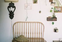 H a b i t a t. / Think bohemian rugs, think white brick and large open windows, lush plants and eclectic decor. That's habitat.
