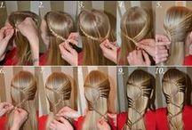 Hiukset, pitkät
