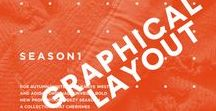 Design: Typography Layout / simple / cool / typography / graphical inspiration