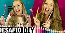 Desafio DIY (vídeos) | Dany Martines / Existe um quadro no canal que eu convido pessoas pra fazer DIY comigo, e criei essa playlist aqui pra você ver que qualquer um pode criar e decorar