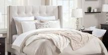 Upholstered Beds / Wrap yourself in warmth.