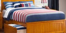 Platform & Traditional Beds / At Atlantic Furniture we have a wide range of bedroom furniture. Beds can come with a variety of headboard, trundle, or storage options!