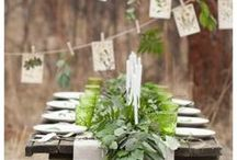 Greener Celebrations / A collection of handy links, tutorials, instructions, ideas, and inspiration to help you have a beautiful celebration and still be eco-conscious. Green(er) weddings, parties, and special events!