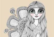 006 Dibuix,zentangles, i cercles !!!!