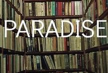 Books & Destinations / Books with great covers, and fabulous places to read them.