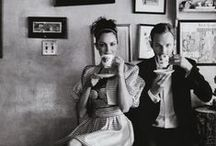 (Famous) People Drinking Tea/ Coffee