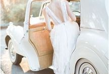 Wedding Cars & Transportation / For getting around in style! From horse drawn carriages to classic cars, this board is full of wedding transportation, getaway cars, and ideas on how to decorate them!