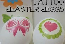 Easter ideas / Easter themed craft ideas for kids, decorations, Easter themed activities