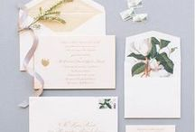 Wedding Invitations & Paper / Invitations Suites, Callibraphy, Escort cards, and all wedding paper lovelies.