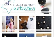 Space Learning Activities for Kids / Learning about stars, planets, constellations, space travel