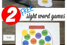 Sight Words / Creative activities for teaching sight words to kids
