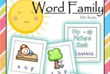 Word Families / Activities for teaching word families to kids