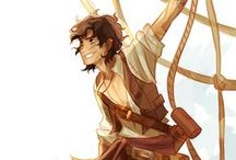 Viria's art / Mainly Percy Jackson though. Harry Potter here and there.