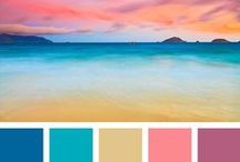 Colour pallettes / All things colour that spark an idea/inspiration for layouts or photos containing colour combinations I love