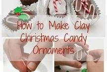 Christmas Ornaments to Make / Hand made / crafted Christmas Ornaments