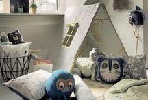 Une jolie chambre pour Dodu / Des idées chinées ça et là pour aménager la chambre de mon petit garçon