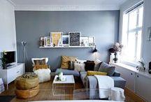 Un salon haut en couleurs / je cherche des idées pour repeindre mon salon blanc immaculé!