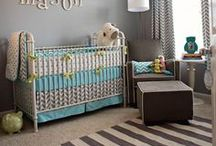* Baby Room / Beautiful baby room design, colors, ideas.