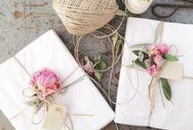 Jolis paquets cadeaux / Gift wrap