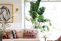 At Home : Bohemian / Inspiration and ideas for your home with the Bohemian style.