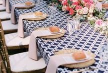 Patterns in Wedding Details / Stripes, polka dots, florals, and damask....patterns in wedding decor is the hot new trend!