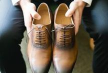 Groom Accessories / Wingtips, Bouts, Ties, and Cufflinks- Wedding Accessory and Style Inspiration for your Dapper Groom!