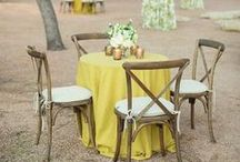 Yellow Wedding Inspiration / Sunny yellow, Bright yellow, pastel yellow, Soft yellow wedding detail inspiration for your big day!