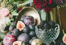 Berry Themed Wedding Detail Inspiration / Raspberry, Blackberry, Mulberry, Privet, Strawberry, Blueberry-the list goes on! Fresh and fun berry wedding inspiration ideas for your wedding day decor.