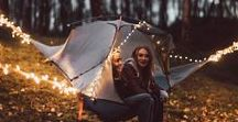 FALL in Love with Camping / A collection of scenes that inspire us to explore the great outdoors and fall in love with camping this season. We've got the perfect tree tents and accessories to keep you cosy. So you'll be ready for every adventure whatever the weather!