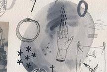 Art / Illustration / Art illustration design creative drawing painting inspiring