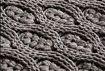 Crochet Cable on.... / Yes, this is crochet.  Stunning, snuggly and speedy to do!