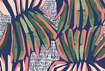 Pattern / Pattern repeat fabric design colour